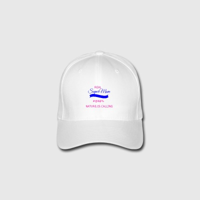 supermomtransparant - Flexfit Baseball Cap