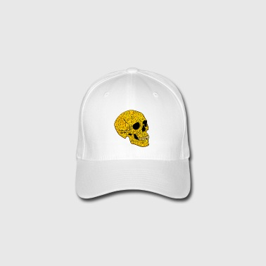 YellowSkull - Flexfit baseballcap