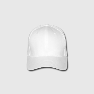 Dogmother_weiss - Casquette Flexfit