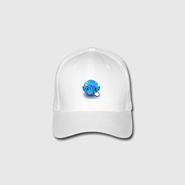 14821565-internet world-wide-web concept-Terra-glo - Cappello con visiera Flexfit