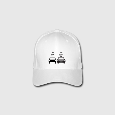 your car - my car - Flexfit Baseball Cap