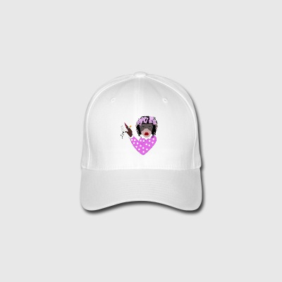 WANNA KISS FEMALE MONKEY - Gorra de béisbol Flexfit