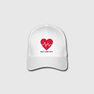 Coeur de Salt Lake City - Casquette Flexfit