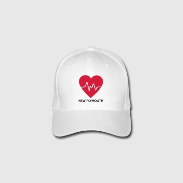 Heart New Plymouth - Flexfit Baseball Cap