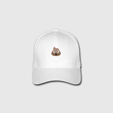 Poo Emoji Face! Retro Design! - Casquette Flexfit