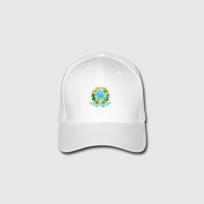 Brasilian Coat of Arms Brasilia Symbol - Flexfit lippis