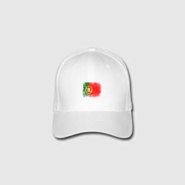 Portugal Flag Proud Portoguese Vintage Distressed - Casquette Flexfit