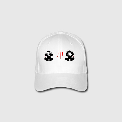 innocent monkey - Flexfit Baseball Cap