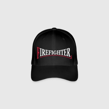 Fire Fighter Logo - Flexfit Baseballkappe