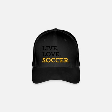 Goalkeeper LIVE. LOVE. SOCCER. - Flexfit Baseball Cap
