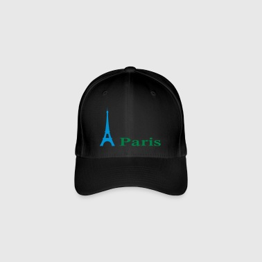 Paris - Flexfit Baseballkappe