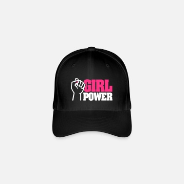 Girl Power GIRL POWER - emancipazione femminista - smalto per unghie - Cappello con visiera Flexfit