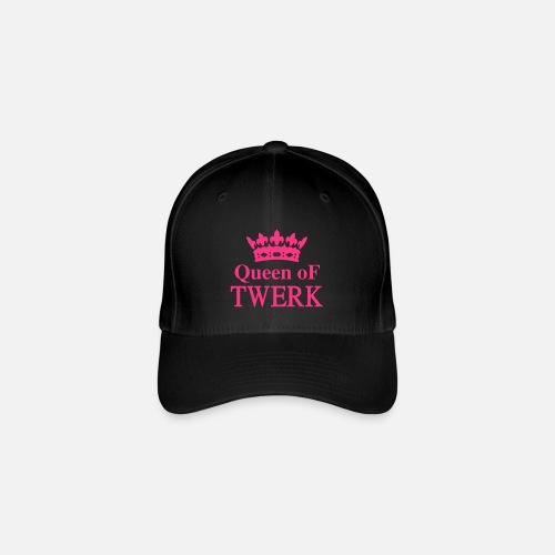 552253fe220 Queen of TWERK - Flexfit Baseball Cap. Front