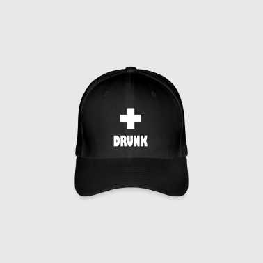 drunk plus - Flexfit Baseball Cap