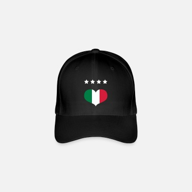 More Countries By Obie Italian Football - Flexfit Baseball Cap