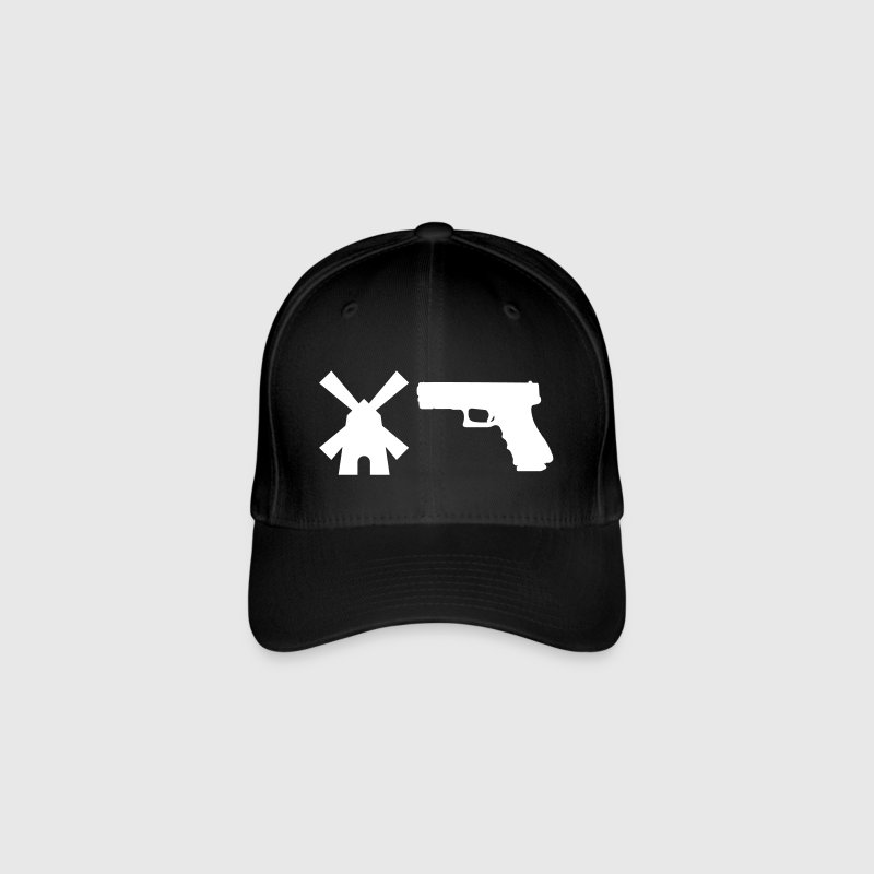 Windmill Gun - Flexfit Baseball Cap