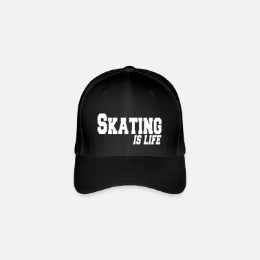 Roller skating is life - Casquette Flexfit