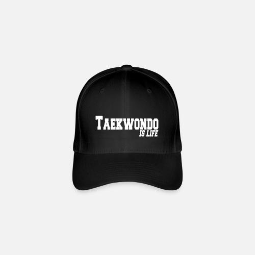 taekwondo is life Gorra de béisbol flexfit  b3d92585012