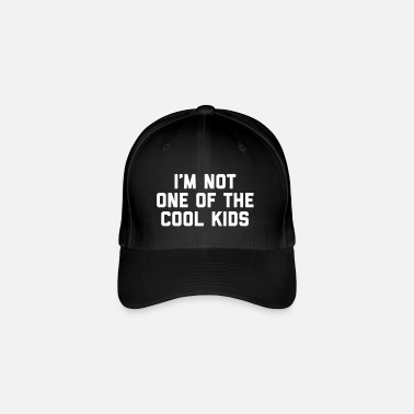 Cool Quote The Cool Kids Funny Quote - Flexfit Baseball Cap