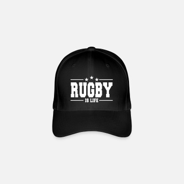 Rugby rugby is life 1 - Flexfit baseballcap