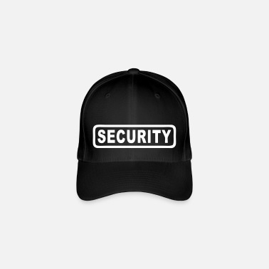 Agent SECURITY - Casquette Flexfit