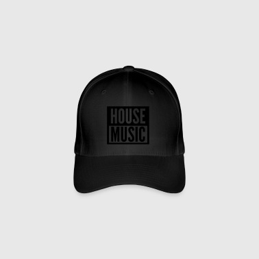 house music - Flexfit Baseball Cap