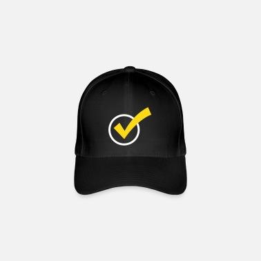 Marca De Verificación Una marca de verificación - Gorra de béisbol flexfit acb2660173b