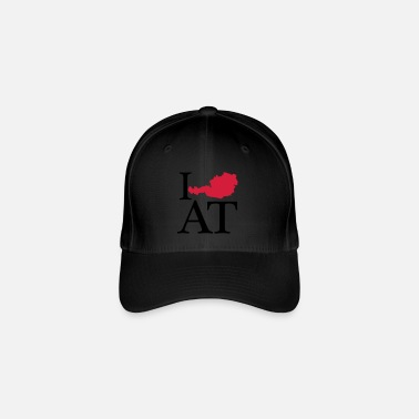I Love I love AT - I love Austria - Flexfit Baseball Cap