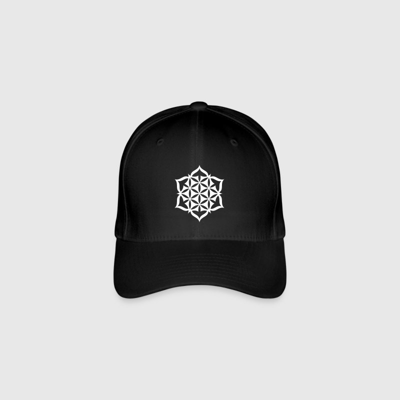 Flower Of Life - Lotus 01 - Flexfit Baseballkappe