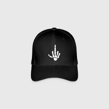 middle finger - Flexfit Baseball Cap