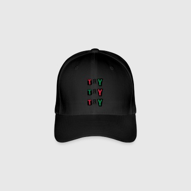 Try Try - Flexfit Baseball Cap