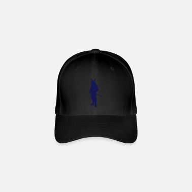 Vector Asian Silhouette - Flexfit Baseball Cap