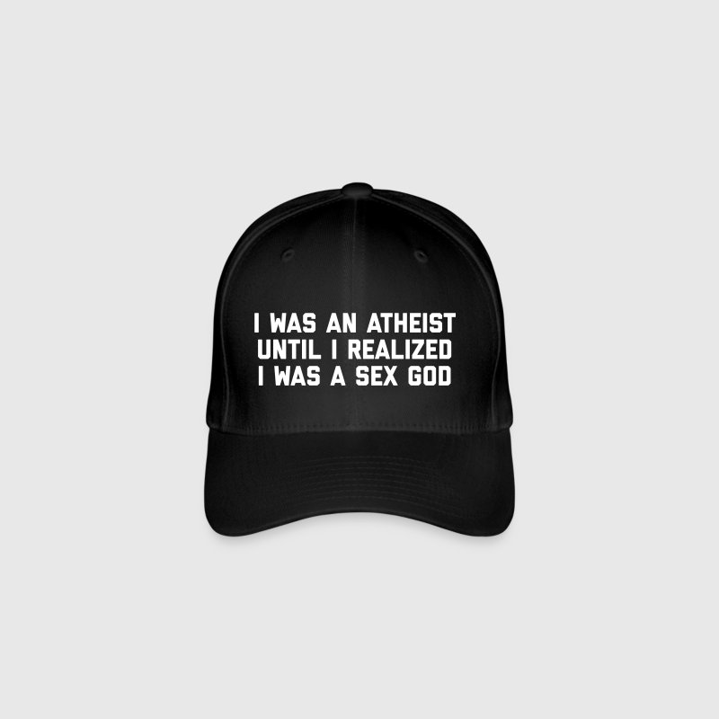 Sex God Funny Quote - Flexfit Baseball Cap