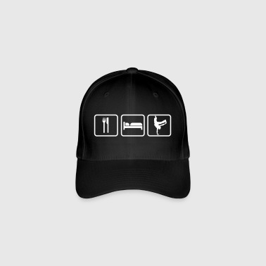 Breakdance Eat Sleep Breakdance - Flexfit Baseball Cap