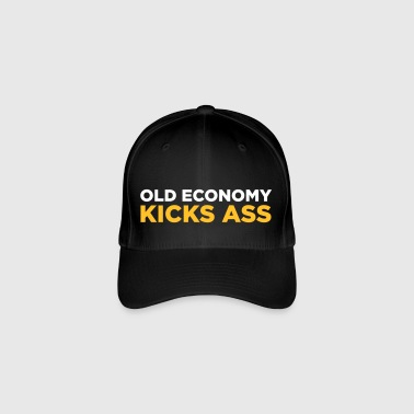 Old Economy Is Awesome! - Flexfit Baseball Cap