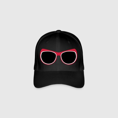 geek sunglasses 1112 - Flexfit Baseball Cap