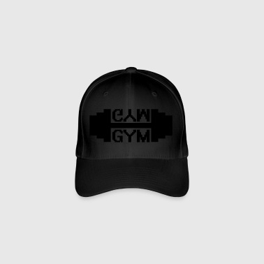 fitness Gym - Cappello con visiera Flexfit