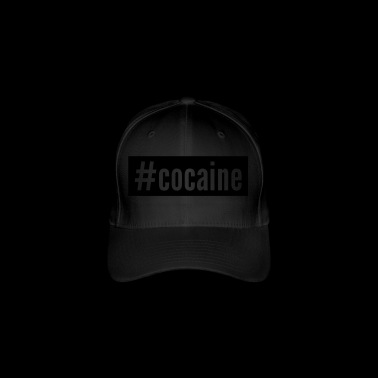 cocaine - Flexfit Baseball Cap