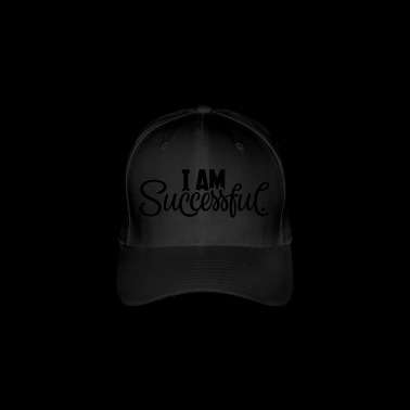 I AM successful. - Flexfit Baseballkappe