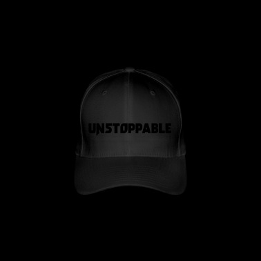 Unstoppable! Motivatie zeggen gift - Flexfit baseballcap