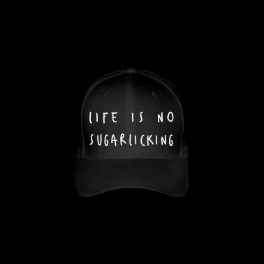 Denglish Life is geen sugarlicking - Flexfit baseballcap