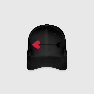 fleche love cupidon heart 8022 - Flexfit Baseball Cap