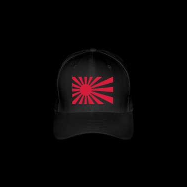 Japan Flag Nippon - Flexfit Baseball Cap
