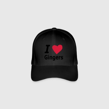 I love Gingers - Flexfit Baseball Cap