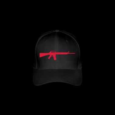 Machine Gun - Flexfit Baseball Cap