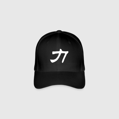 Chinese Words: Force - Flexfit Baseball Cap
