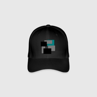Colored squares - Flexfit Baseball Cap