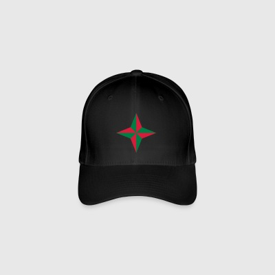 Compass rose without edge - Flexfit Baseball Cap