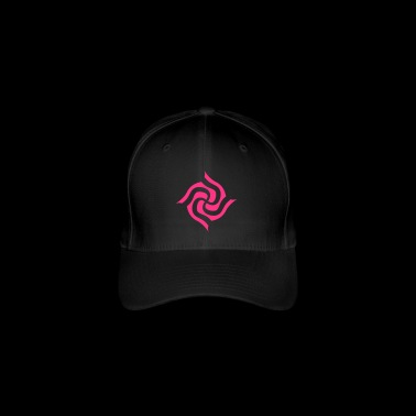 Psychedelic Surreal Swastika Design - Flexfit Baseball Cap