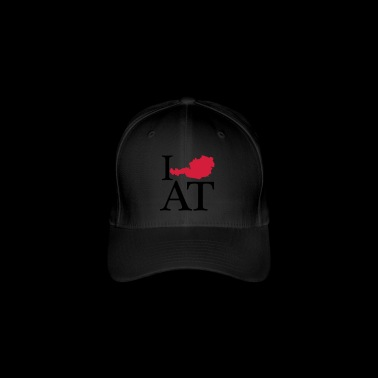 I love AT - I love Austria - Flexfit Baseball Cap